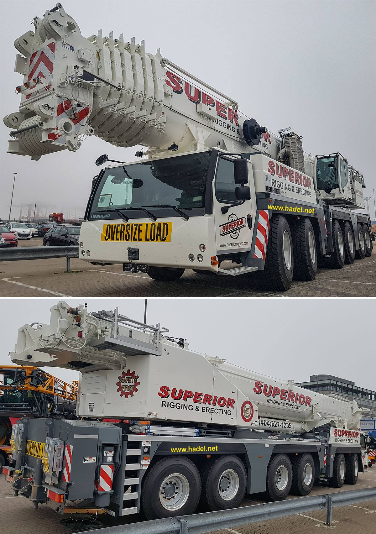 Liebherr LTM 1300-6.2 Superior Rigging & Erecting